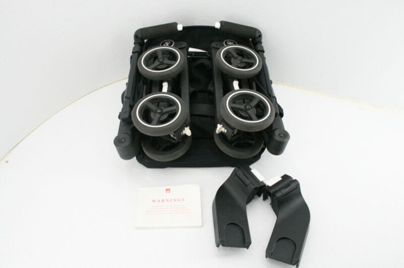 gb Pockit+ All Terrain Ultra Compact Lightweight Travel Stroller Velvet Black