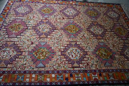 Handmade Persian Silk Rug Hand Knotted Antique Somak Ardebil Hornsby Hornsby Area Preview