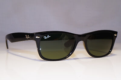 RAY-BAN Mens Sunglasses Black Rectangle New Wayfarer PERFECT RB 2132 901 25606