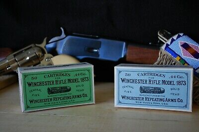 Reproduction vintage Winchester .44-40 (.44 WCF) Cartridge Box