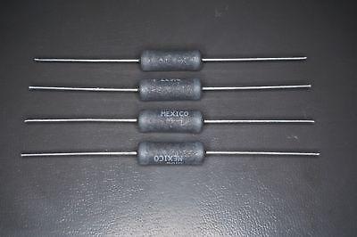 Lot Of 4 Rwr84s1002frb12 Vishay Resistor 10k Ohm 1 7w Wirewound Axial Nos