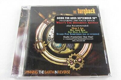 CD - THE TURNBACK Spinning The Earth In Reverse PURR-2097, 2018, Brooklyn Queens - Does The Earth Spin