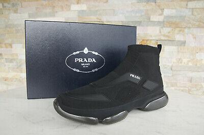 PRADA Talla 9,5 43,5 Cloudbust Mocasines Zapatillas Zapatos Negro Nuevo Antiguo segunda mano  Embacar hacia Spain