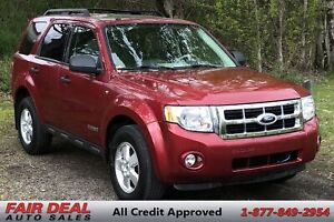 2008 Ford Escape XLT: 4WD/Fully Loaded/Sunroof/Heated Seats