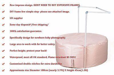 Newborn Baby Photography Posing Bean Bag Studio Prop Best Selling! 100cm X45cm