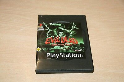 Evil Dead: Hail To The King (Sony PlayStation 1, 2002) USK 16, usado segunda mano  Embacar hacia Spain