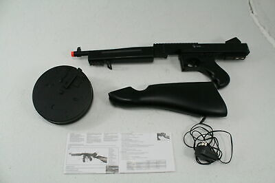 GameFace ASRGTH GFSMG Airsoft Submachine Gun 320 FPS Full Semi Automatic Black