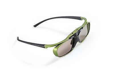 3D aktiv Brille DLP Pro Lime Heaven |  Komp zu. BenQ TH681, Optoma GT1080 Beamer