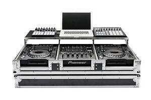 Magma-CDJ-Workstation-2000-900-Nexus-II-Flight-Case-Caja-de-DJ-Caso-Mi