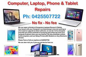 $30 Only - COMPUTER,LAPTOP,PHONE & TABLET REPAIRS Derrimut Brimbank Area Preview