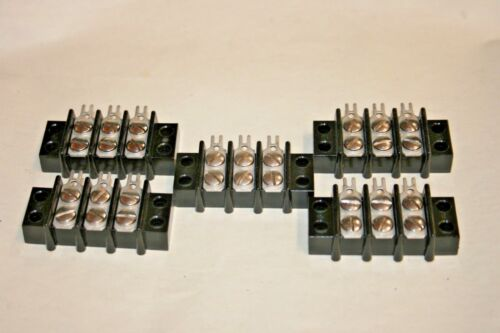 5 PACK 3-Position Terminal Strip (100-846)