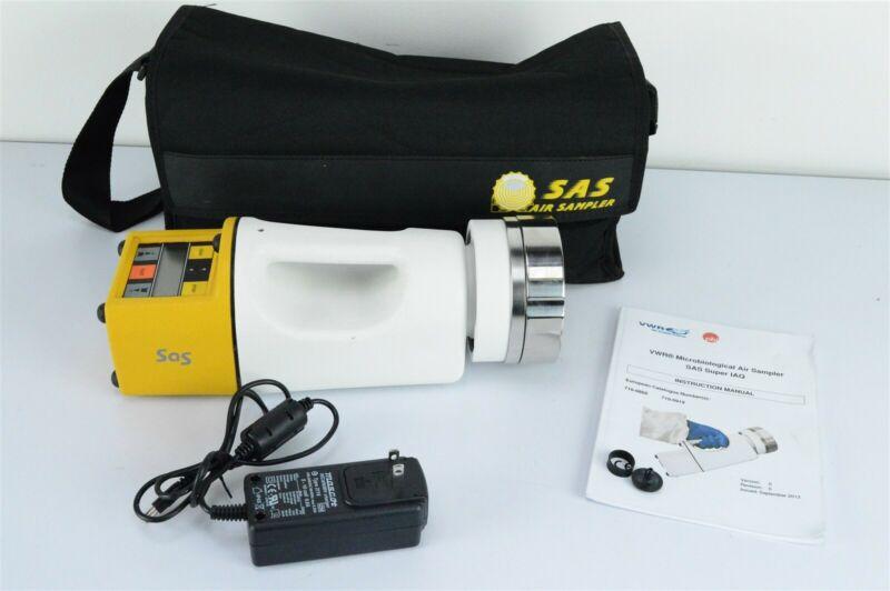 VWR PBI SAS Super IAQ 100 Petri plate MicroBiological Air Sampler w/SS head