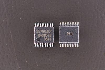 Lot Of 2 557g-03lf Idt Pll Clock Generator Ic Pcie 12 Io 200mhz 3.6v 16-tssop
