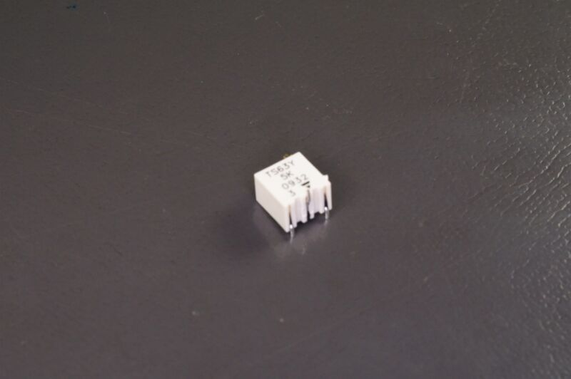 TS63Y502KT20 Vishay Trimmer Resistor 5k Ohm 10% 1/4W 15 Turns Gull SMT