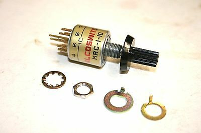 1-Pole, 2-10 Position Rotary Switch