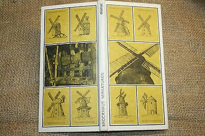 Sachbuch Mühlentechnik, Windmühle, Mühlen, Müller, Mühle, Glück zu, DDR 1984
