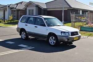 2004 Subaru Forester XS, Manual, Long Rego West Hoxton Liverpool Area Preview