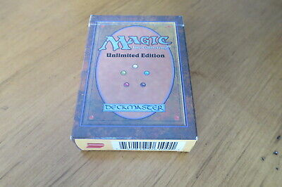 Magic The Gathering Unlimited Starter Pack Box and Instructions ONLY