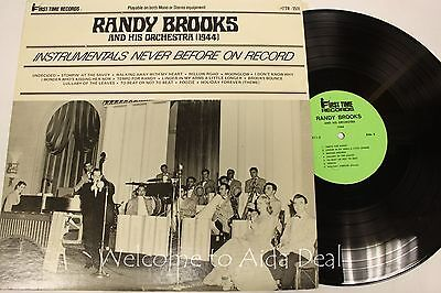 "Randy Brooks and His Orchestra 1944 LP 12"" (VG)"