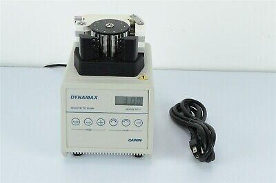Rainin Dynamax 4 Channel Pump Peristaltic Pump Rp-1 Digital Variable