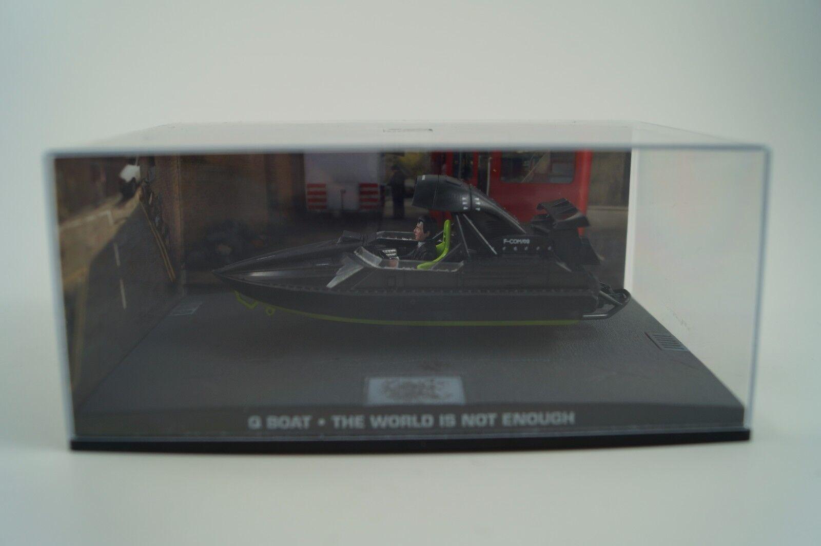 Modellauto 1:43 James Bond 007 Q Boat *die Welt ist nicht genug Nr. 82