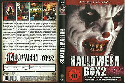 HALLOWEEN  BOX mit 4 Filmen (FSK18+neuw.)