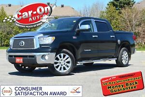 2012 Toyota Tundra Platinum 4X4 LEATHER NAV SUNROOF REAR CAM LOA