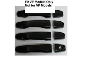 HSV Holden Commodore VE SS SV6 SSV GTS Black Door Handle Covers
