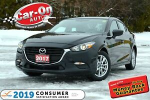 2017 Mazda Mazda3 SE LEATHER REAR CAM HTD SEATS BLUETOOTH ALLOYS