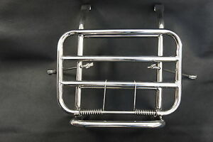 VESPA PX T5 LML P Series Stainless Steel Front Folding Luggage Rack Carrier