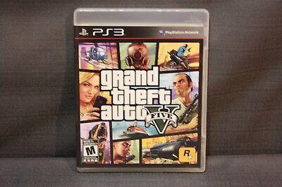 Sony Playstation 3 Ps3 Grand Theft Auto V 5 Gta V Video Game