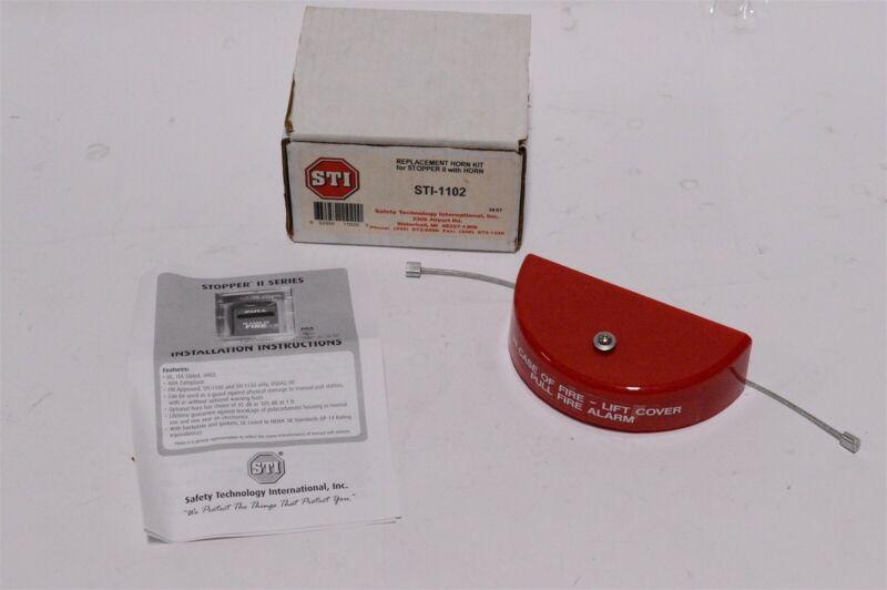 STI Stopper II Series Fire Alarm Box Trim with horn