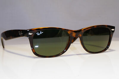 RAY-BAN Mens Sunglasses Brown Rectangle NEW WAYFARER PERFECT RB 2132 902 25994
