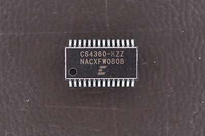 Cs4360-kzz Crystal Semiconductor 24 Bit Dac Digital To Analog Converter 28-tssop