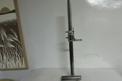 L.s. Starrett No.454 Vernier Height Gage 24 Gauge