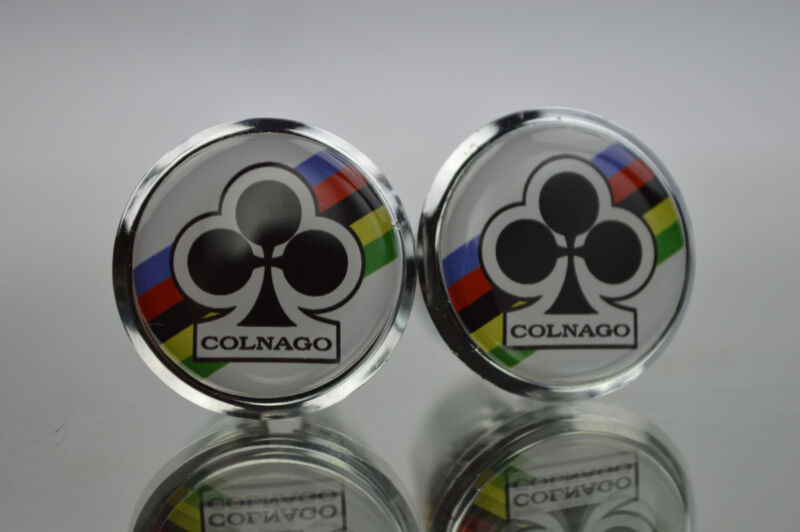 Colnago Club World Champion Plugs Caps Topes bouchons lenker endkappe Tappi 3D