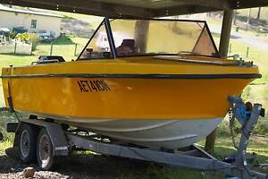 Fishing boat 17ft 90h Clarence Town Dungog Area Preview