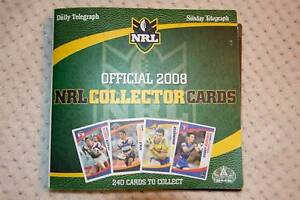 NRL Collector Cards 2008 East Maitland Maitland Area Preview