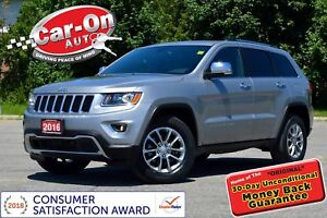2016 Jeep Grand Cherokee Limited 4X4 REAR CAM HTD SEATS FULL PWR