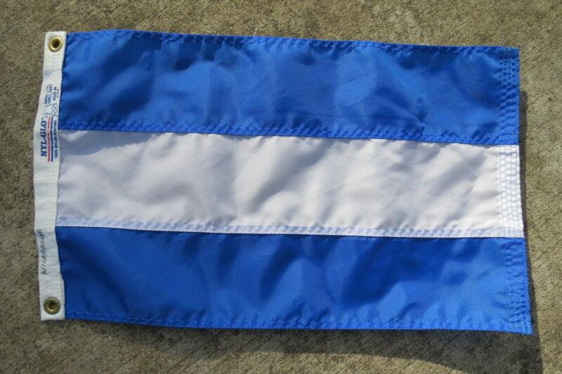 11 X 19 NYL-GLO CANVAS FLAG YACHT CLUB SAILBOAT SHIP BOAT SIGNAL (C2.5B100)
