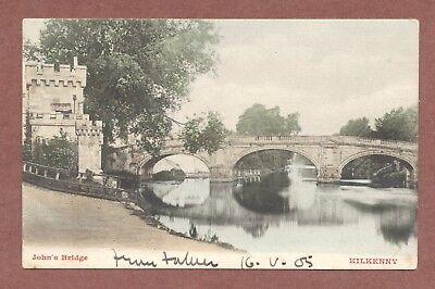 John's Bridge  Kilkenny 1905,  Dorothy Jones The Gas Works Waterford    RK633