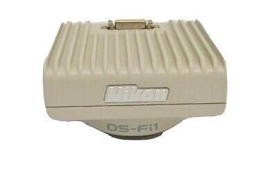 Nikon Ds-fi1 Lab Test Microscope High Definition Color C-mount Camera Head Unit