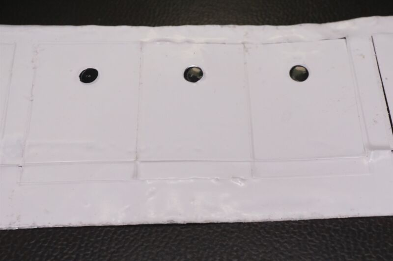 """Lot of 15 MICRO-FAZE A6-TO247 AOS Aluminum Thermal Pad 0.006"""" Thick White NOS"""