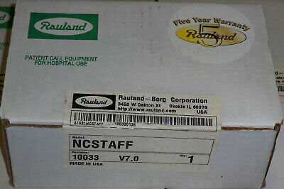 New Rauland-borg Responder Ncstaff Nurse Call Staff Station Factory Sealed Oem
