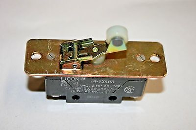 Lincoln 14-72403 Micro-style Switch - No-nc - 20a125250480vac 100-138