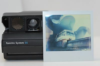 Polaroid Spectra SE, Film Tested with IP Spectra 600.  Works Great!