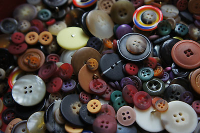 700 Buttons Sale Mixed Colors Sewing Vintage NEW  Huge Bulk Bargain