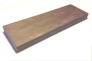 Schleifstein Blauer Belgischer Brocken, 200x50 mm inkl. Anreibestein 30x30 mm