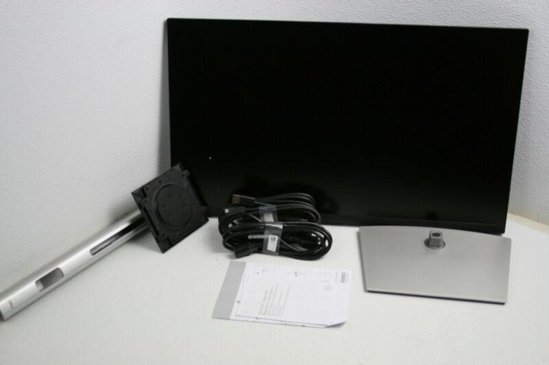 Dell P2721Q 27 In 4K FHD IP Thin Bezel Monitor USB-C HDMI DisplayPort VESA Black