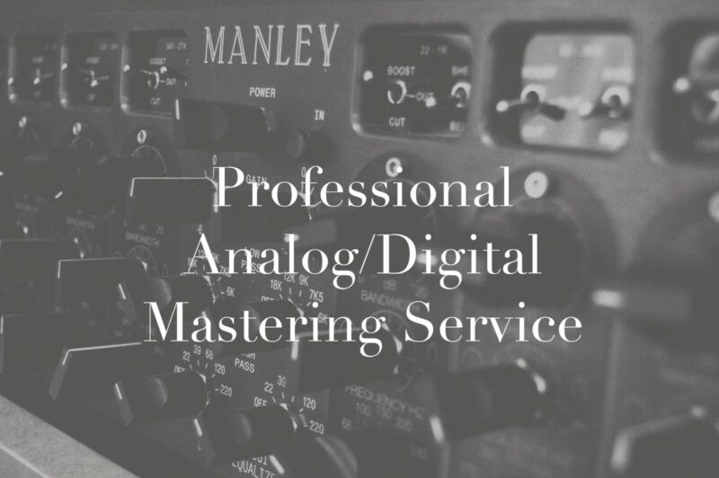 Professional High-End Analog Audio Mastering Service